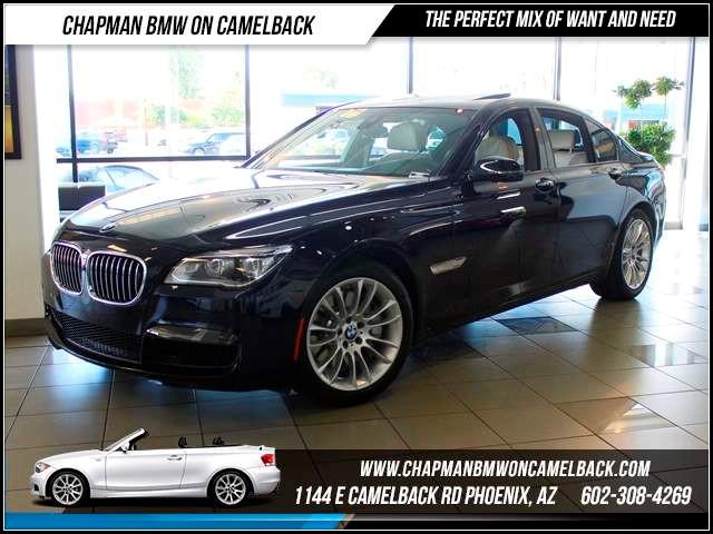 2013 BMW 7-Series 750i Active DAExecM Sport Pkg 17055 miles 1144 E CamelbackMarch Madness S
