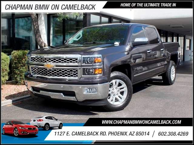 2014 Chevrolet Silverado 1500 LTZ Crew Cab 3675 miles 602 385-2286 1127 E Camelback HOME OF
