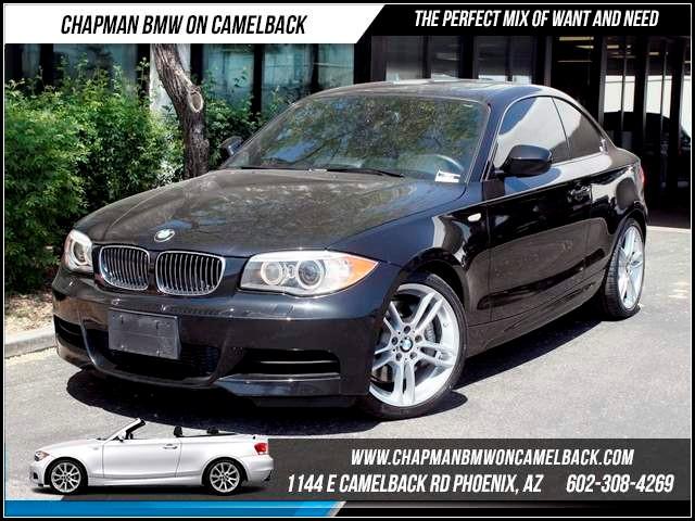2012 BMW 1-Series 135i M SportConvPrem Pkg Nav 40316 miles 1144 E CamelbackCPO Spring Sales