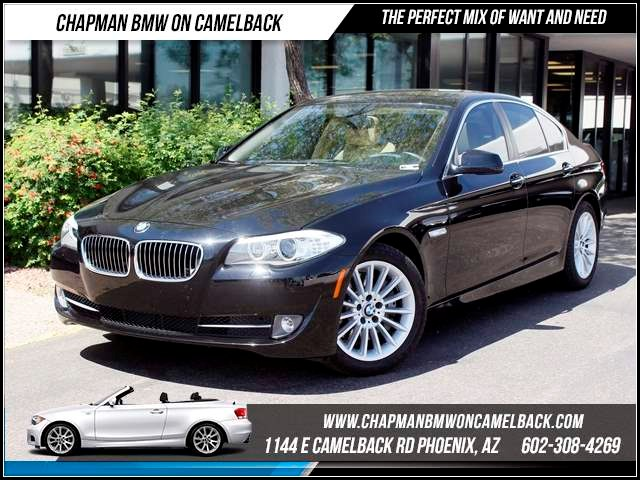 2012 BMW 5-Series 535i NAV Prem pkg 27254 miles 1144 E CamelbackCPO Spring Sales Event on now
