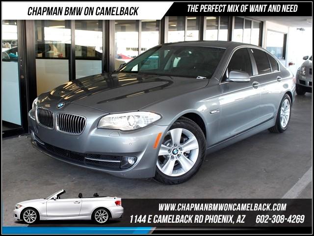 2012 BMW 5-Series 528i NAV PremTech Pkg 47765 miles 1144 E CamelbackCPO Spring Sales Event o