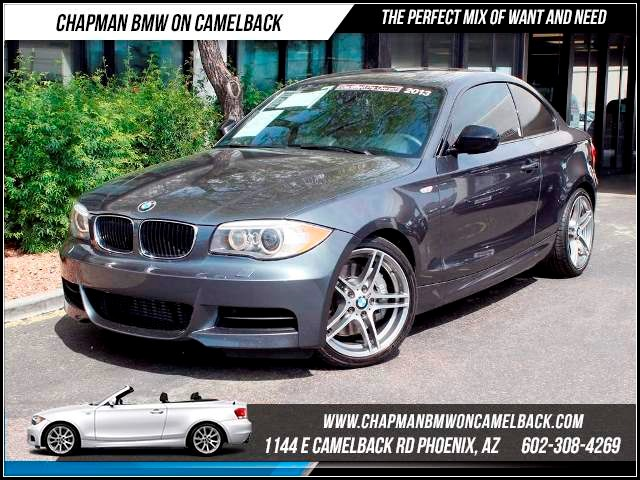 2013 BMW 1-Series 135is NAV PremTech Pkg 20299 miles 1144 E CamelbackCPO Spring Sales Event