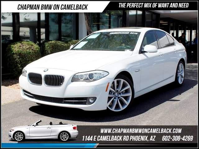 2012 BMW 5-Series 535i NAV PremTechSport Pkg 50563 miles 1144 E CamelbackCPO Spring Sales E