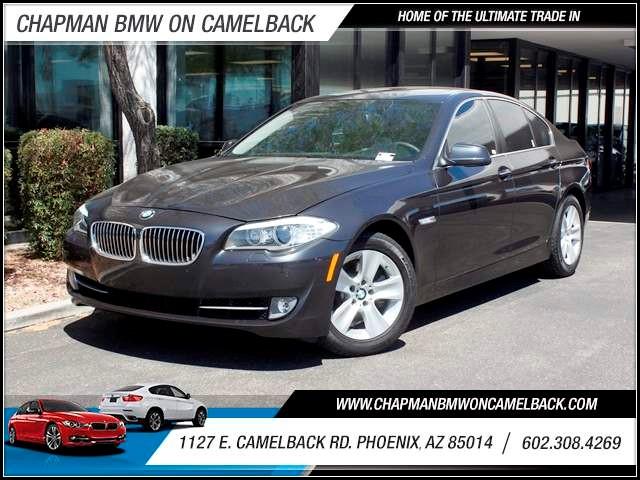 2012 BMW 5-Series 528i NAV PremCold weather Pkg 35327 miles 1144 E CamelbackCPO Spring Sales