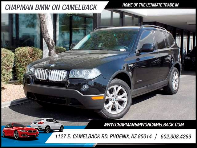 2010 BMW X3 xDrive30i NAV Prem Pkg 46424 miles 602 385-2286 1127 E Camelback HOME OF THE ULT