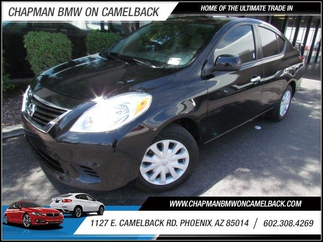 2013 Nissan Versa 16 SV 34386 miles 1127 E Camelback BUY WITH CONFIDENCE Chapman BMW is