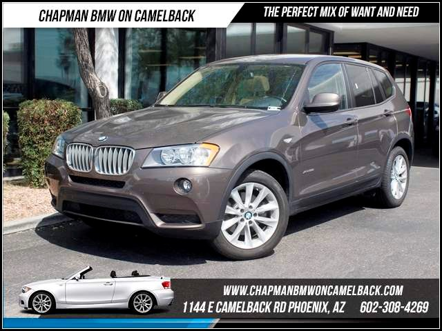 2013 BMW X3 xDrive28i NAV Prem Pkg 33624 miles Memorial Day Sales Event at Chapman BMW on Camelba