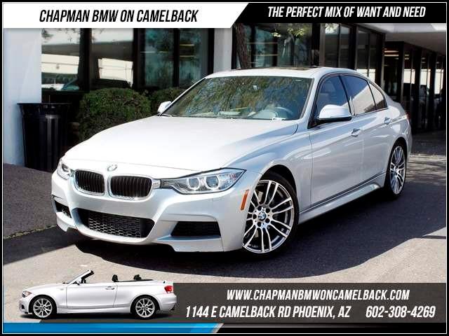 2013 BMW 3-Series Sdn 335i NAV PremTechMsptCold Wea 23215 miles 1144 E CamelbackCPO Spring