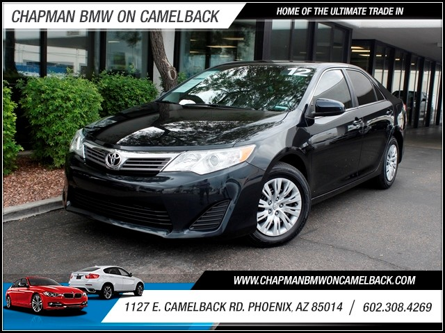 2012 Toyota Camry LE 35035 miles 602 385-2286 1127 E Camelback HOME OF THE ULTIMATE TRADE IN