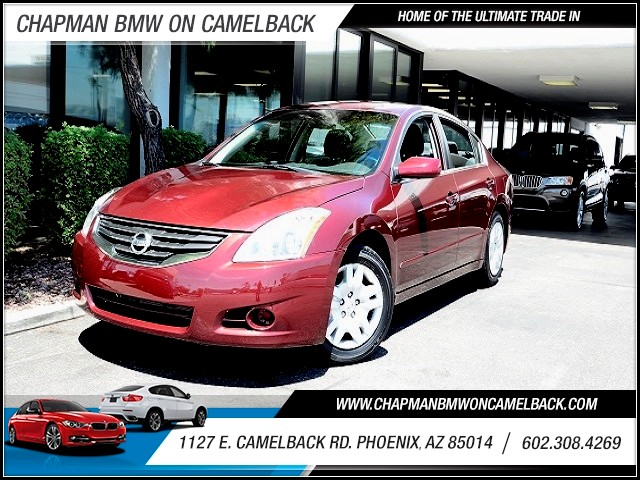 2011 Nissan Altima 25 S 62879 miles 602 385-2286 1127 E Camelback HOME OF THE ULTIMATE TRAD