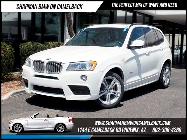 2012 BMW X3 xDrive35i NAV PremTechMspt Pkg 39687 miles 1144 E CamelbackCPO Spring Sales Eve