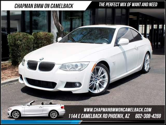 2012 BMW 3-Series Cpe 335i NAV PremSportConv Pkg 18271 miles 1144 E CamelbackCPO Spring Sal