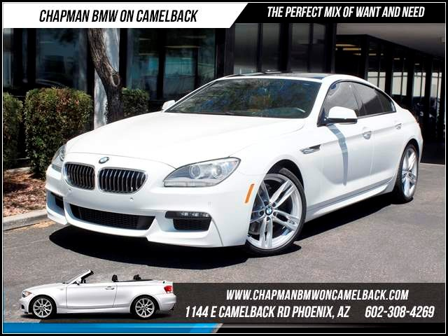 2014 BMW 6-Series 640i Gran Coupe MSptNavMulti C 12014 miles 1144 E CamelbackCPO Spring Sal