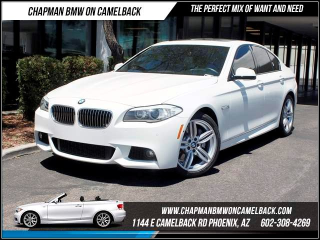 2012 BMW 5-Series 535i NAV PremTechMsptDrivers 35766 miles 1144 E CamelbackCPO Spring Sale