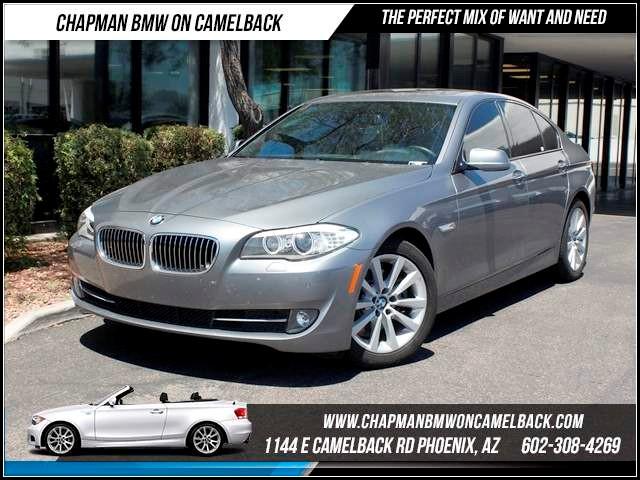 2012 BMW 5-Series 528i NAV PremTechSpt Pkgs 29470 miles 1144 E CamelbackCPO Spring Sales Ev