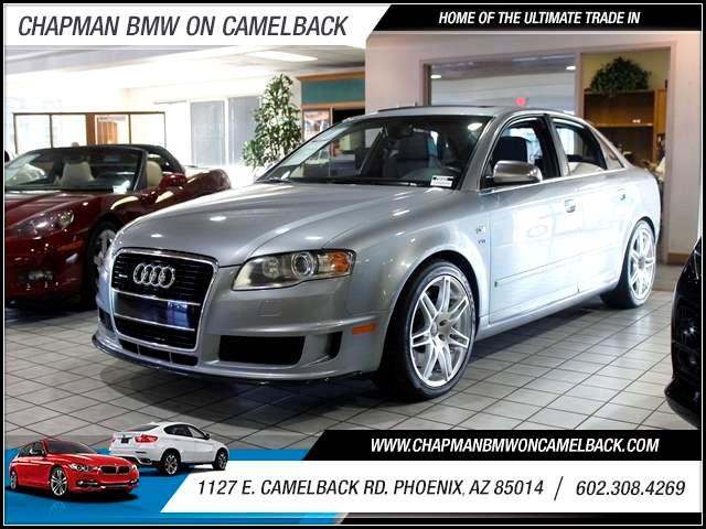 2006 Audi S4 quattro 61982 miles 602 385-2286 1127 E Camelback HOME OF THE ULTIMATE TRADE IN
