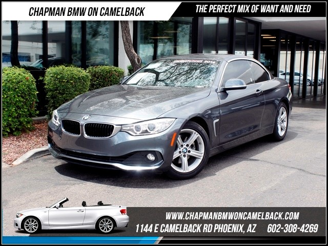 2014 BMW 4-Series Conv 428i NAV 13825 miles Memorial Day Sales Event at Chapman BMW on Camelback