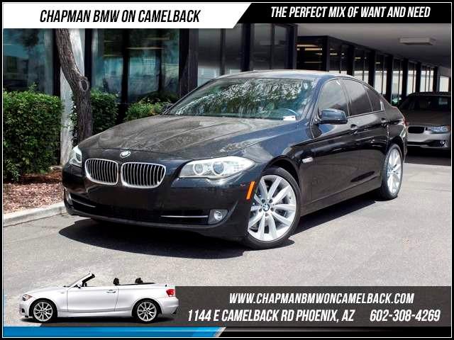 2012 BMW 5-Series 535i NAV PremTechSportPS Pkg 52782 miles 1144 E CamelbackCPO Spring Sale