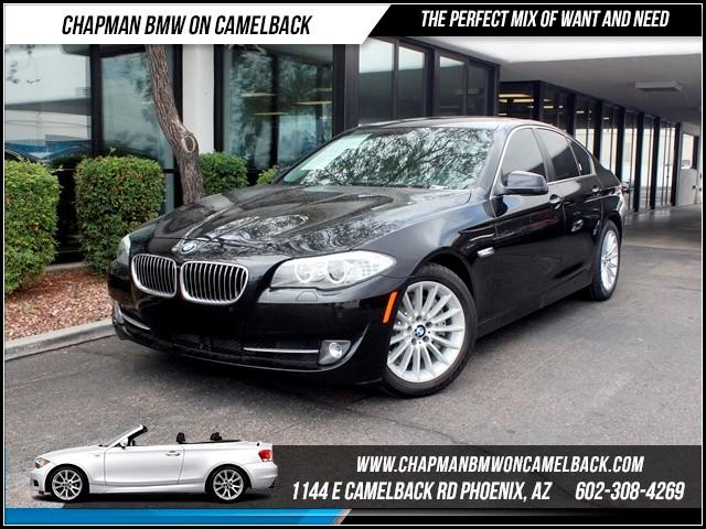2012 BMW 5-Series 535i NAV PremTeck Pkg 44974 miles 1144 E CamelbackCPO Spring Sales Event o