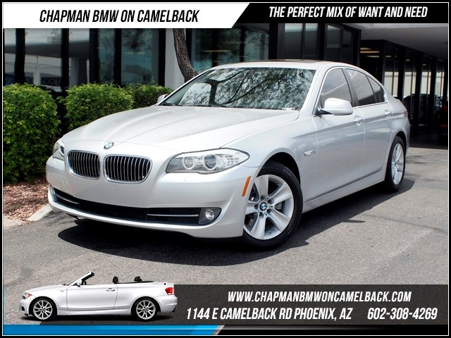 2012 BMW 5-Series 528i NAV 49462 miles Memorial Day Sales Event at Chapman BMW on Camelback in Ph