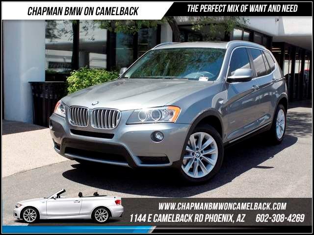 2011 BMW X3 xDrive28i PremTechConvSport a 52388 miles 1144 E CamelbackCPO Spring Sales Eve