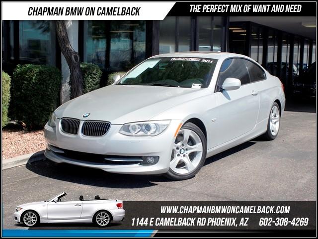 2011 BMW 3-Series Cpe 328i NAV PremSportValu Pkg 39020 miles 1144 E Camelback RdChapman BMW o