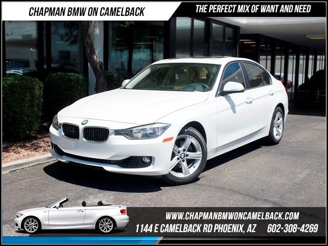 2012 BMW 3-Series Sdn 328i NAV PremTech Pkg 35816 miles 1144 E Camelback RdChapman BMW on Came