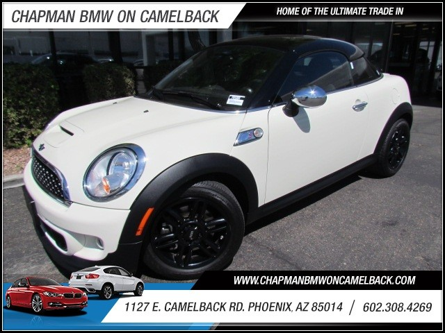2013 MINI Coupe Cooper S 20654 miles 1127 E Camelback BUY WITH CONFIDENCE Chapman BMW is
