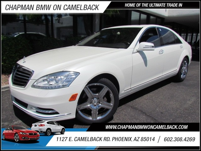 2010 Mercedes S-Class S550 20412 miles 1127 E Camelback BUY WITH CONFIDENCE Chapman BMW