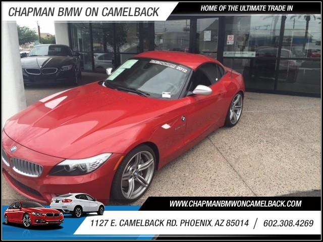 2012 BMW Z4 sDrive35is PremNavPrem Sound P 17593 miles 60238522861144 E Camelback RdChapm