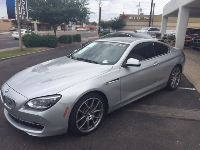 2012 BMW 6-Series 650i Multi Contour seatLux Seat 33264 miles 1144 E Camelback RdYES it is pos