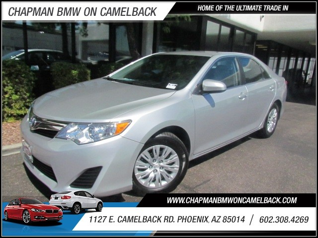 2014 Toyota Camry LE 13222 miles 1127 E Camelback BUY WITH CONFIDENCE Chapman BMW is loc