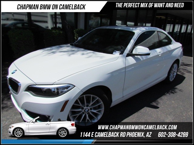 2015 BMW 2-Series 228i 20108 miles 1144 E Camelback Rd Brand Spankin NewishJust announced