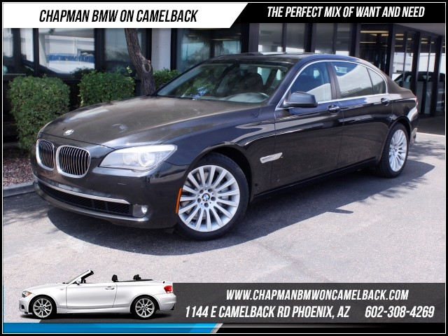 2012 BMW 7-Series 750Li Lux SeatsRear DVDNav 37351 miles 1144 E Camelback Rd Brand Spankin