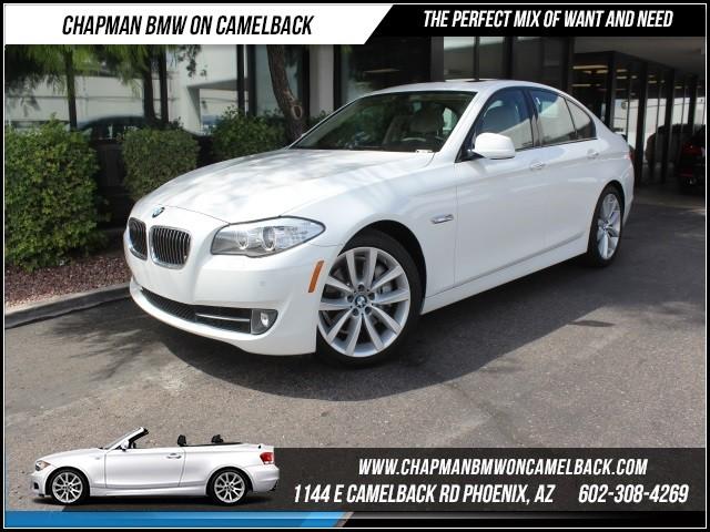 2011 BMW 5-Series 535i PremNavSpt Pkg 39205 miles Premium Package 2 Sport Package Split fold-