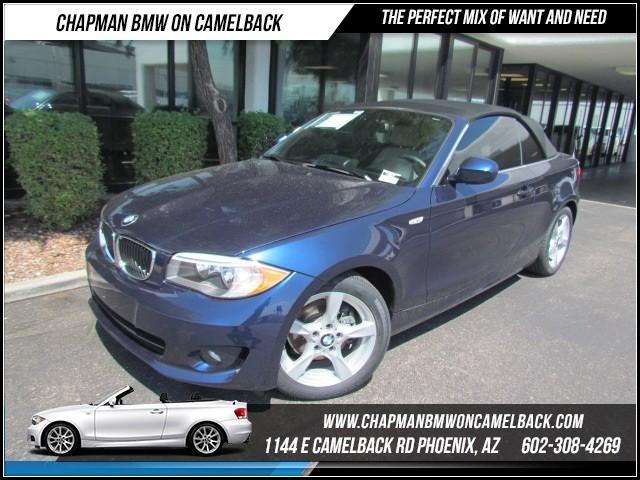 2013 BMW 1-Series 128i PremTechNav 26953 miles 1144 E Camelback Rd Brand Spankin NewishJ