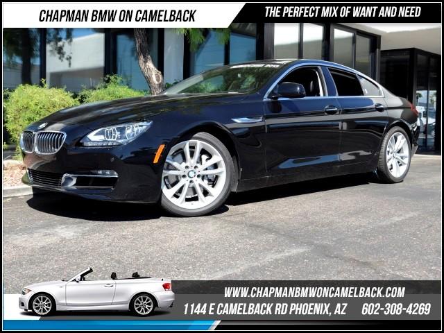 2013 BMW 6-Series 640i Gran Coupe Nav 26858 miles 1144 E Camelback Rd Brand Spankin Newish