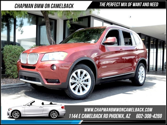 2013 BMW X3 xDrive28i PremSav Pkg 39494 miles 1144 E Camelback Rd Brand Spankin NewishJus
