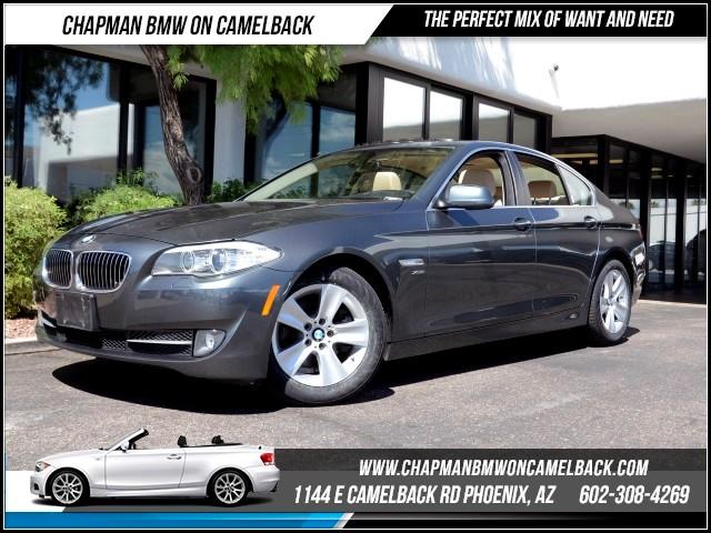 2012 BMW 5-Series 528i xDrive PremTechColdNav 32769 miles 1144 E Camelback Rd Brand Spanki