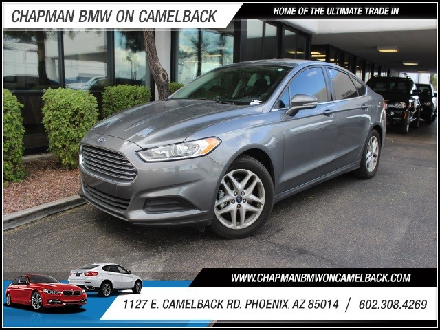 2014 Ford Fusion SE 20860 miles 602 385-2286 1127 E Camelback HOME OF THE ULTIMATE TRADE IN