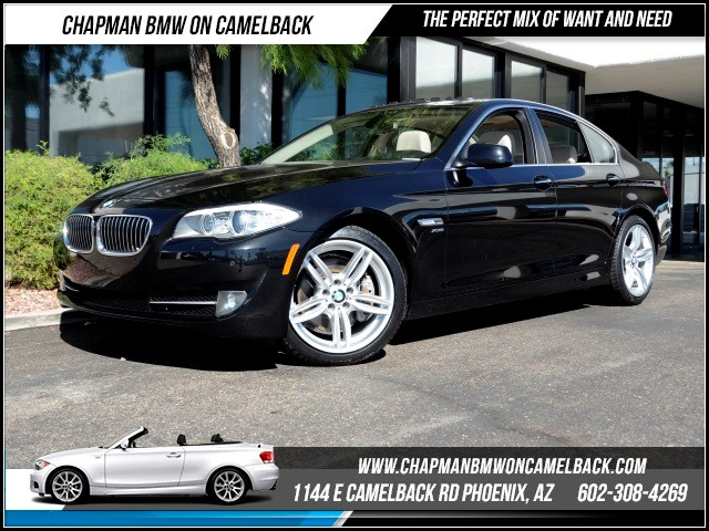 2012 BMW 5-Series 535i xDrive PremTechNavCold W 43815 miles 1144 E Camelback Rd October CPO