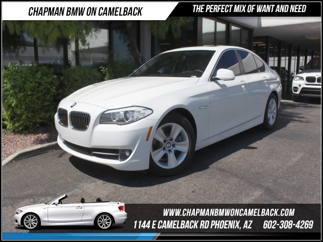 2013 BMW 5-Series 528i 22074 miles 1144 E Camelback Rd Brand Spankin Newish180 Certified P