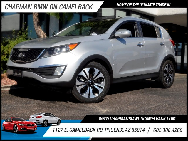 2011 Kia Sportage SX 82281 miles 1127 E Camelback BUY WITH CONFIDENCE Chapman BMW is loc