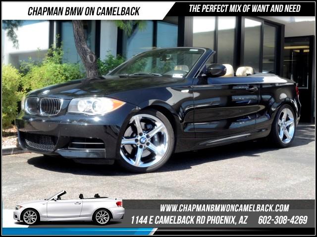 2010 BMW 1-Series 135i PremSportNav Pkg 70973 miles 1144 E Camelback Rd October CPO Sales Eve