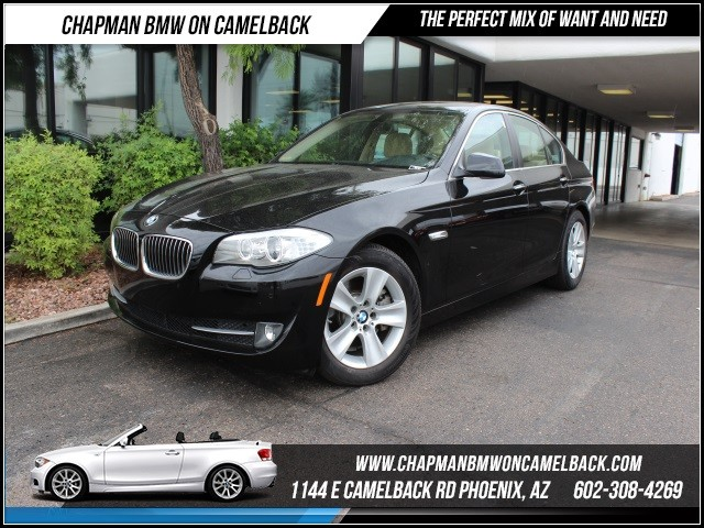 2012 BMW 5-Series 528i Prem Pkg 34434 miles 1144 E Camelback Rd October CPO Sales EventFree