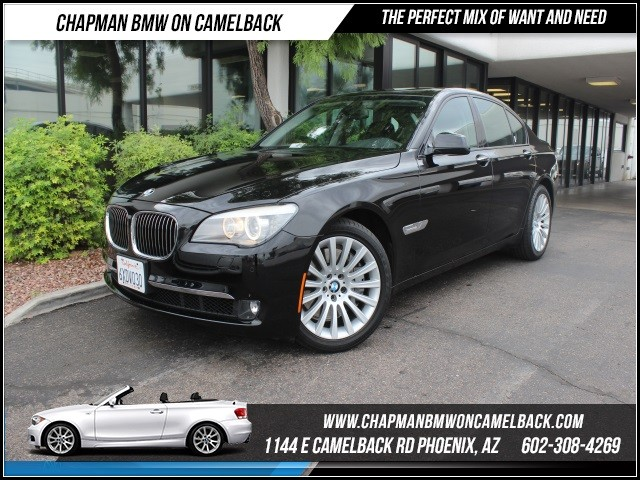 2012 BMW 7-Series 750i Cold WeatherNavLux Seats 47121 miles 1144 E Camelback Rd October CPO S
