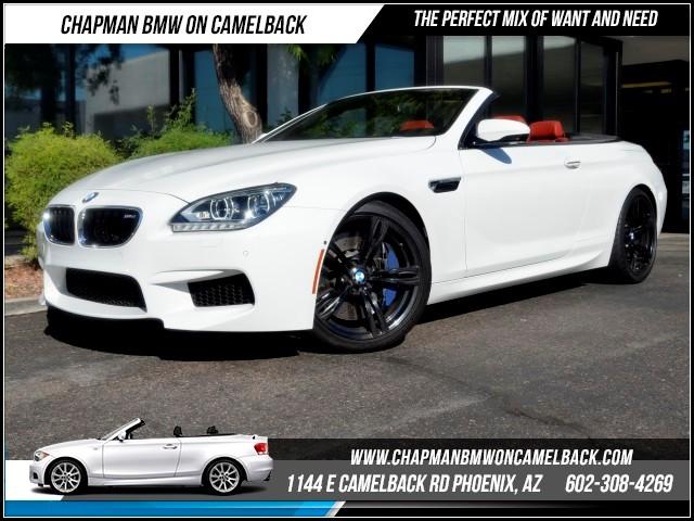 2012 BMW M6 Driver AssistExec Pkg Nav 50209 miles Black Friday Sales Event at Chapman BMW on Cam