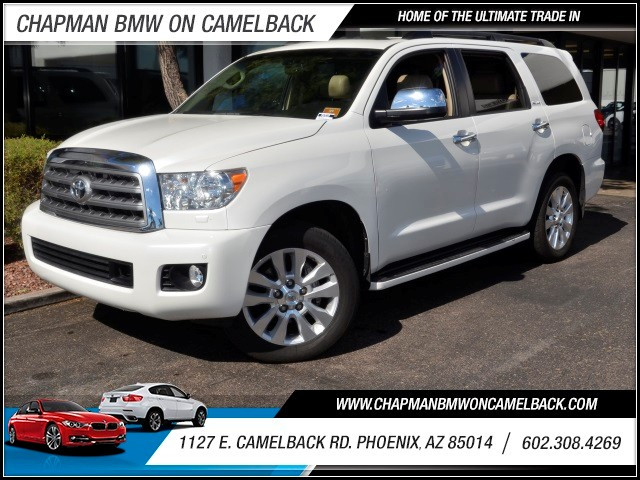 2011 Toyota Sequoia Platinum 55764 miles 1127 E Camelback BUY WITH CONFIDENCE Chapman BM
