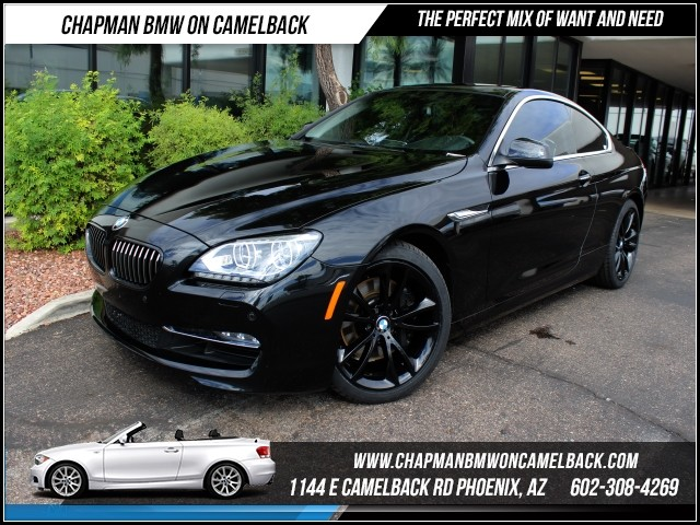 2012 BMW 6-Series 640i Lux seatsNav 29264 miles 1144 E Camelback Rd October CPO Sales Event