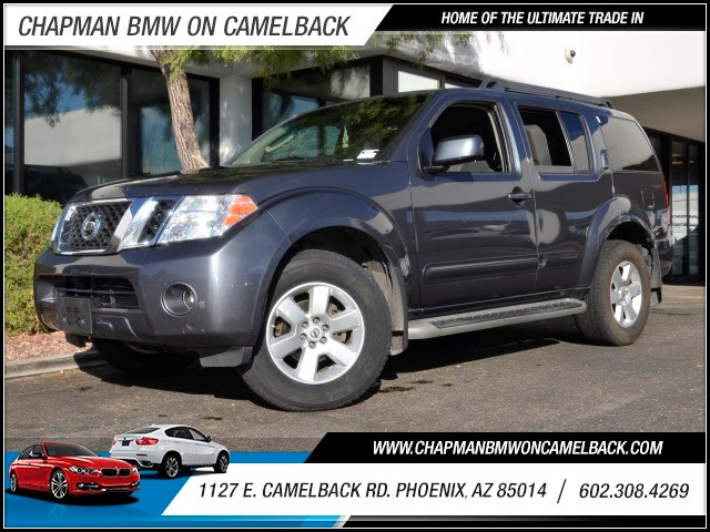 2012 Nissan Pathfinder SV 78747 miles 602 385-2286 1127 E Camelback HOME OF THE ULTIMATE TRA